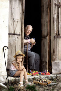 L'inedito anziano, foto vincitrice del Concorso Bergamini
